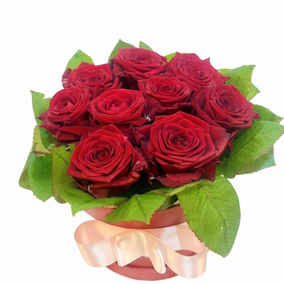 Flower box bordo rdeča1