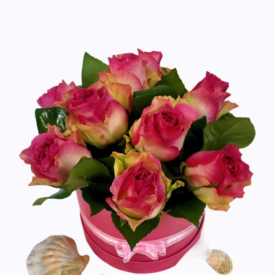 Flower box roza 2